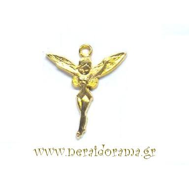 Μεταλλική νεράιδα μίνι-Χρυσό