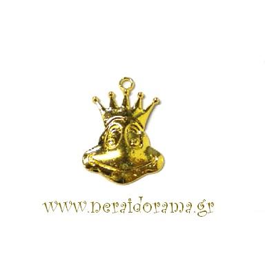 Μεταλλικός πρίγκιπας βάτραχος-Χρυσό