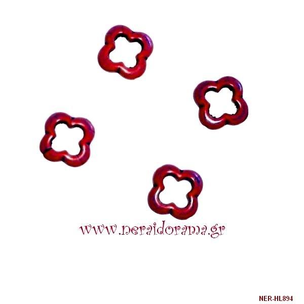 Σταυρός χαολίτης  κόκκινος
