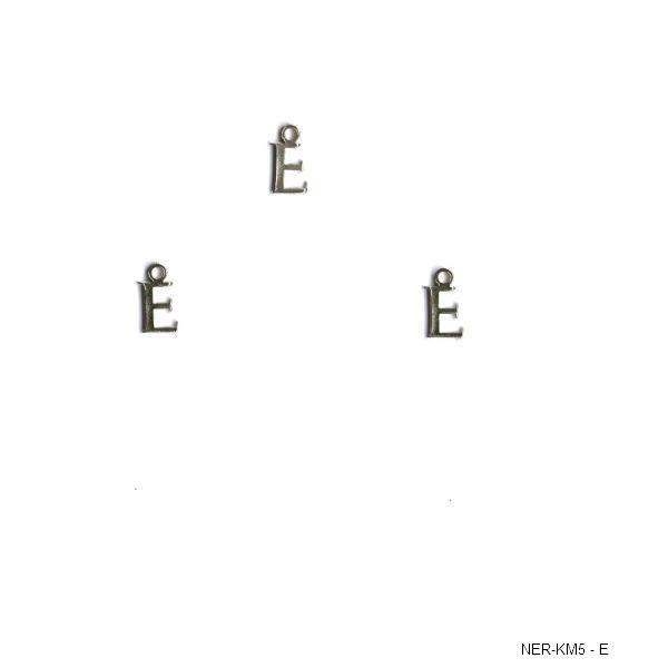 Μεταλλικό μίνι μονόγραμμα - Ε