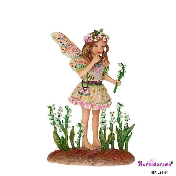 Συλλεκτική νεράιδα Lily of the Valley Faerie