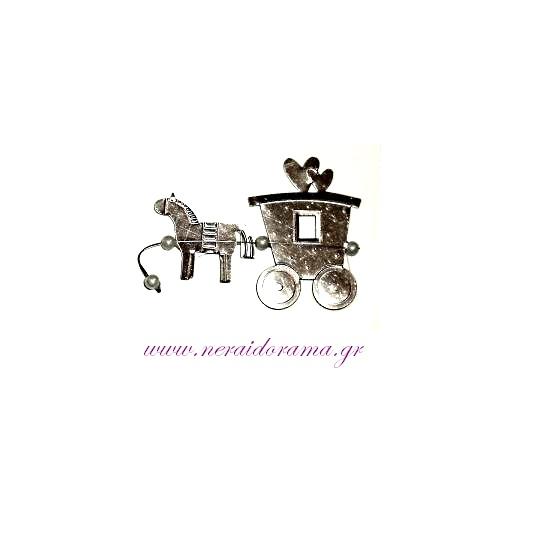 Μεταλλική άμαξα