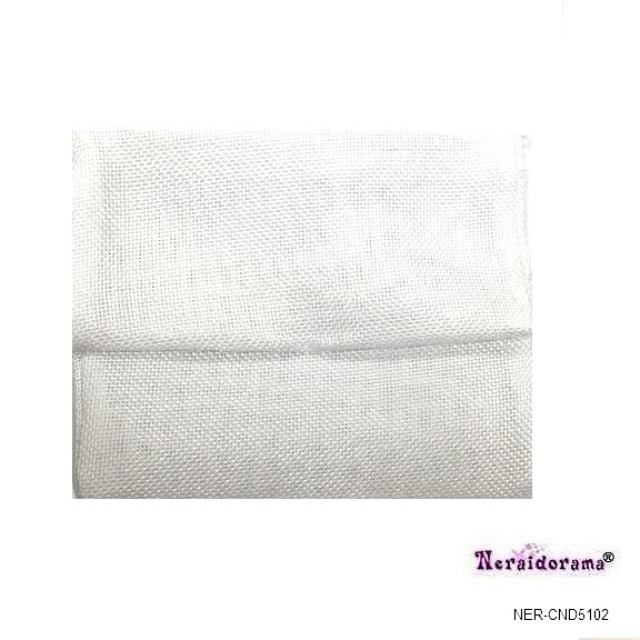 Πουγκί λινάτσα  φάκελος -Λευκό