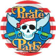 Πιατάκια  πάρτυ  πειρατές