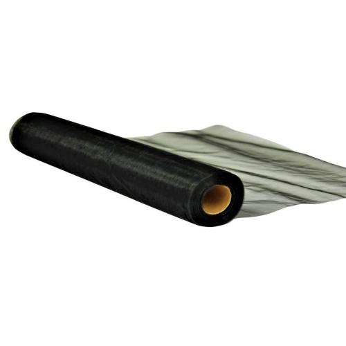 Οργάντζα ύφασμα τόπι Μαύρο 150 εκ. x 50 μέτρα
