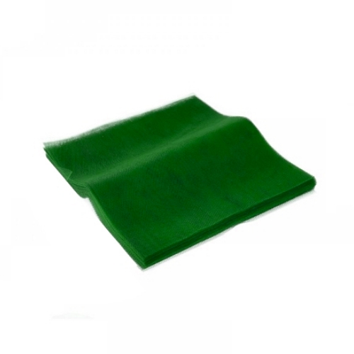 Τούλι Πράσινο Κομμένο Τετράγωνο 36x36εκ. 100 τεμ