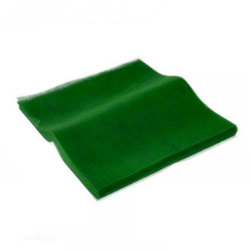 Τούλι Κομμένο Τετράγωνο Πράσινο 50x60εκ. 100τεμ