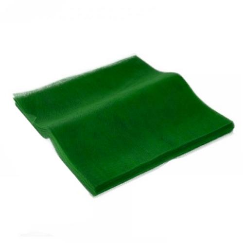 Τούλι Πράσινο Κομμένο Τετράγωνο 60x60εκ. 100 τεμ