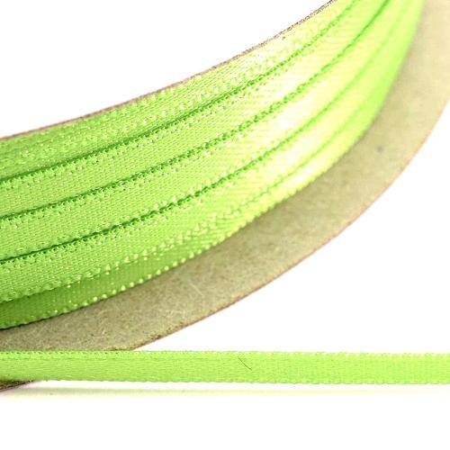 Kορδέλα Σατέν Διπλής Όψης 3 mm x 100μ Α.Λαχανί