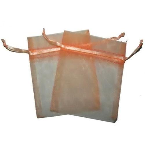 Salmon Organza Bags 10 x 12cm 100pcs