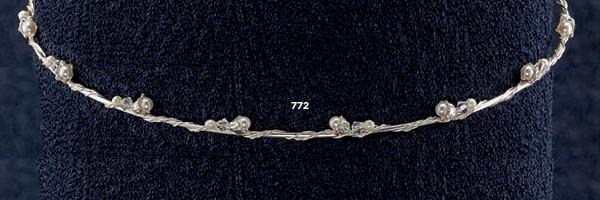 Ασημένια Στέφανα Γάμου 925°