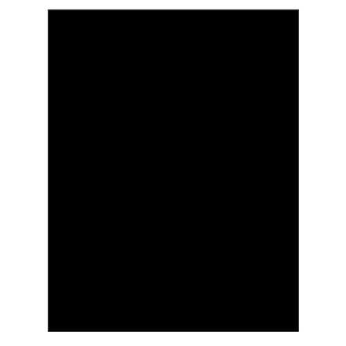 Χαρτόνι Τύπου Canson Μαύρο 50 x 70 εκ.