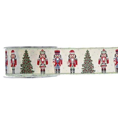 Christmas Ribbon Nutcracker 5.5cmX9m