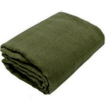 Olive Green Gauze Fabric Bolt