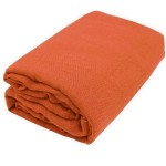 Orange Gauze Fabric Bolt