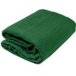 Green Gauze Fabric Bolt