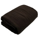 Soft cotton gauze fabric Brown