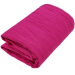 Fuchsia Gauze Fabric Bolt