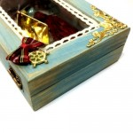 Wooden Box Christmas Charm Joy 2021