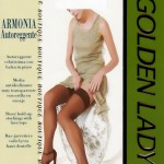Golden Lady Armonia sheer hold-up stockings with lace tops 20 DEN