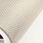Ivory Honeycomb Net On Roll 60cm x 9m