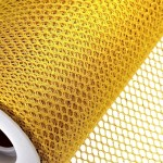 Yellow Honeycomb Net On Roll 60cm x 9m