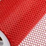 Red Honeycomb Net On Roll 60cm x 9m