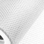 White Honeycomb Net On Roll 60cm x 9m