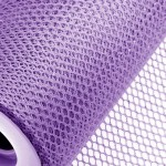 Lilac Honeycomb Net On Roll 60cm x 9m