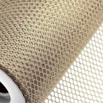Beige Honeycomb Net On Roll 60cm x 9m