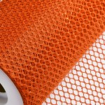 Orange Honeycomb Net On Roll 60cm x 9m
