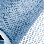 Light Blue Honeycomb Net On Roll 60cm x 9m