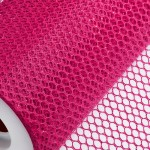 Fuchsia Honeycomb Net On Roll 60cm x 9m