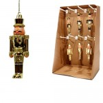 Wooden Christmas Gold Nutcracker 12,5cm