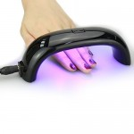 Mini Portable UV Nail Dryer Machine LED CCFL Curing Lamp Gel Nail Polish 9W