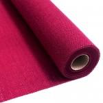 Fuchsia burlap fabric 55 cm x 5 meters