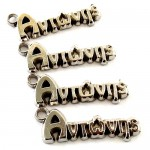 Metal charm name Antonis