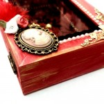 Wooden Box Christmas Charm 2021 Imagination