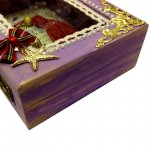 Wooden Box Christmas Charm 2021 Serenity