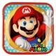 Paper Plates 23 cm Super Mario  8 pcs