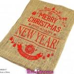 Χριστουγεννιάτικο πουγκί  Merry Christmas