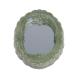 Dollhouse miniature green porcelain bathroom set toilet 1:12 3