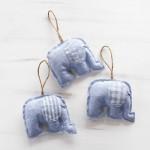 Υφασµάτινοι Χειροποίητοι Ελέφαντες 1