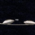 Ασημένια Στέφανα Γάμου 925° Με Κλαδί Ελιάς