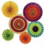 Διακοσμητικοί Χάρτινοι Κύκλοι Σέτ 6Τεμ. 20cm/30cm/40cm