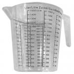 Plastic Messure Cup 1.5Lt