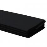 Χαρτί γκοφρέ 50 εκ. x 2 μέτρα Μαύρο