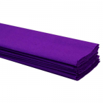 Purple Crepe Paper 50 x 2m