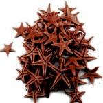 Καφέ Φυσικοί Αστερίες 1-2εκ Συσκευασία 100 τεμ