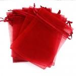 Red Organza Bags 23 x 35 cm 100pcs